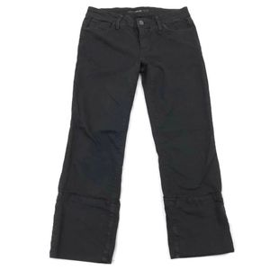 Joe's Jeans Socialite Kicker Women's Black Cropped